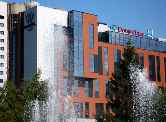 Construction of 4-star hotel «DoubleTree by Hilton» in Novosibirsk and Class A business centers
