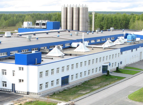 Building of the second turn «VEKA AG» plant in the Novosibirsk region
